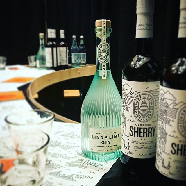 Loved telling an awful lot of people about our Oloroso Sherry and @lindandlimegin at @cocktailsinthec over the weekend. Fantastic to see so many people trying Oloroso for the first time and loving it.  #edinburgh #leithdistillery #lindandlime #leith #sherry #oloroso #gin #scottishgin