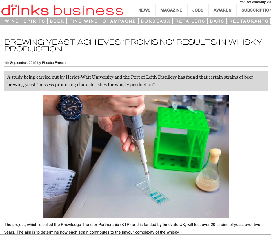 THE DRINKS BUSINESS - 03/09/19 - NEWS