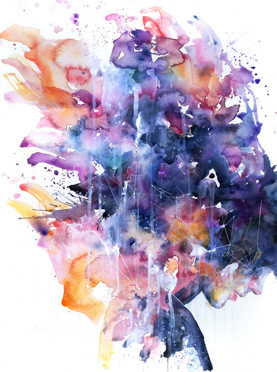 In a Single Moment all her Greatness Collapsed, Agnes-cecile