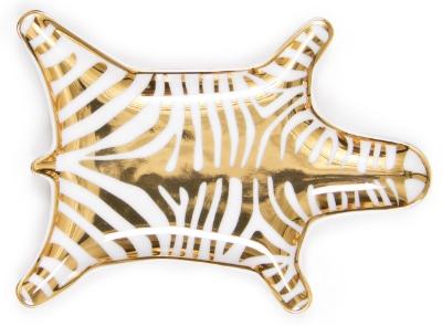 Furbish Studio //  Metallic Zebra Dish