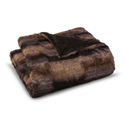 Target //  Faux Fur Ombre Throw
