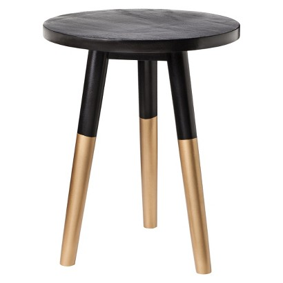 Target //  Nate Berkus Black and Gold accent table