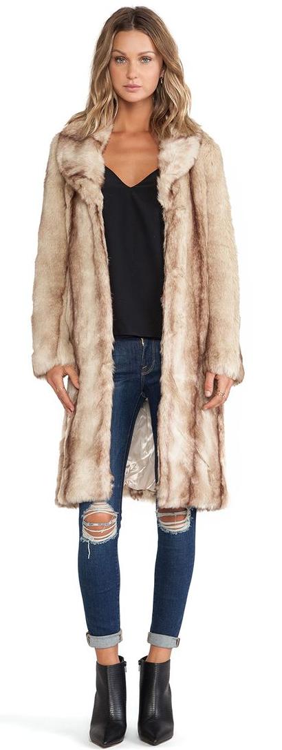 Revolve //  My Fur Lady Coat
