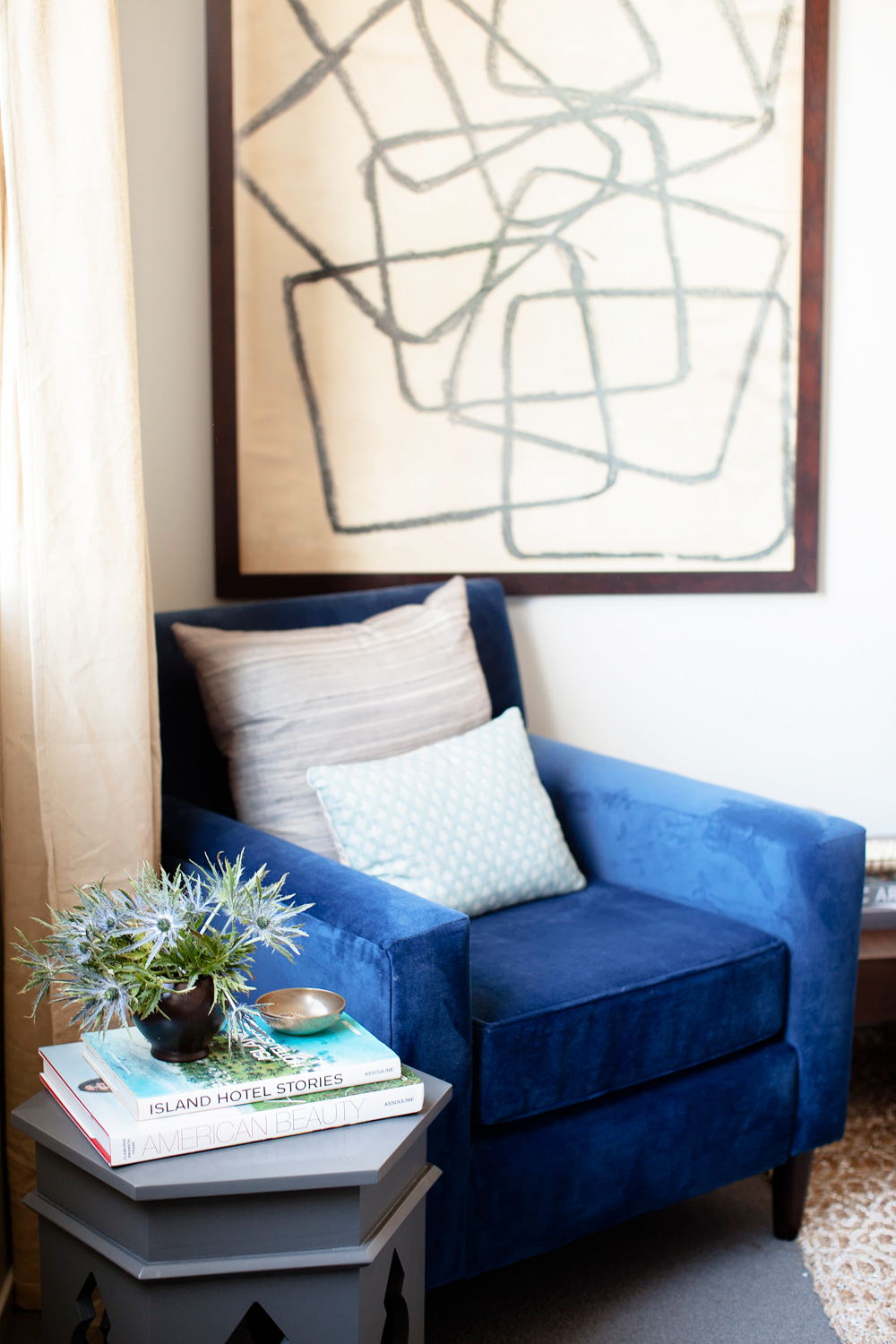 color. me. quirky. event designer's perfect bedroom  // Domaine