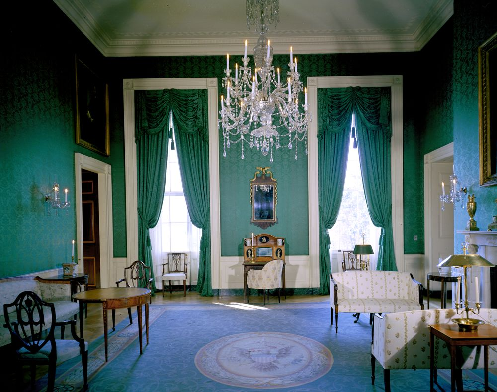 color. me. quirky. // Inside the White House