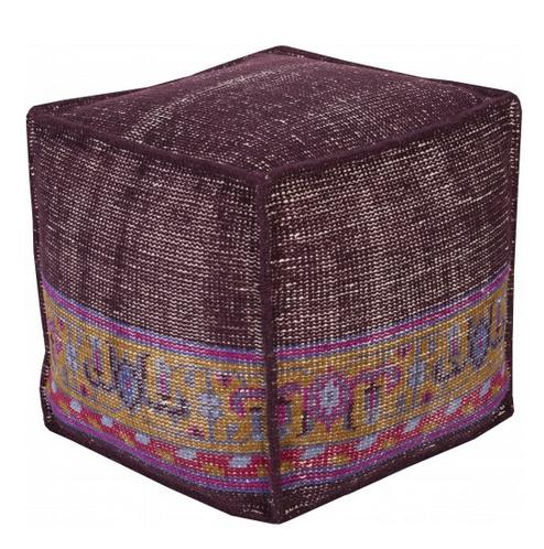 Tamil Pouf, Purple