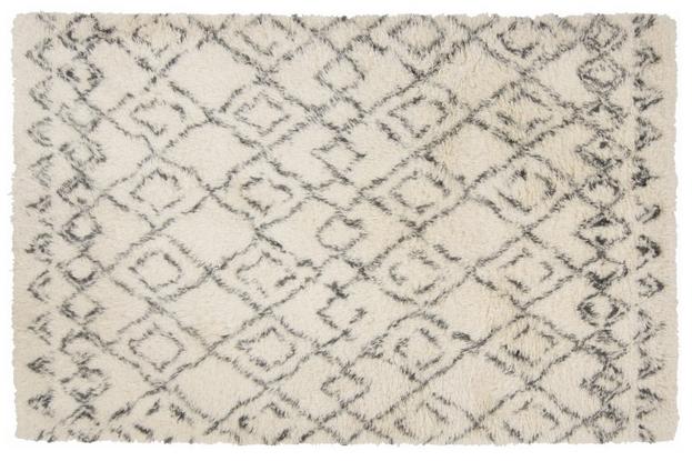Tinke Rug, Ivory & Charcoal