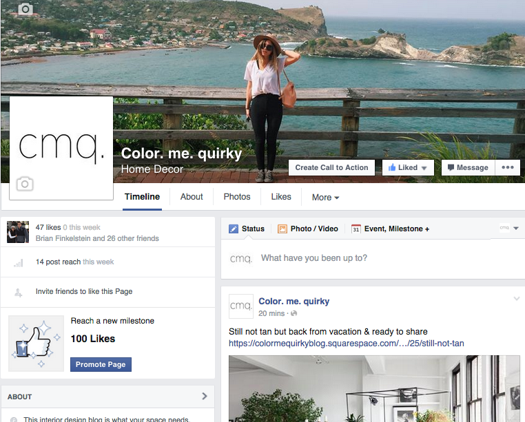 cmq on facebook. Be awesome and follow!