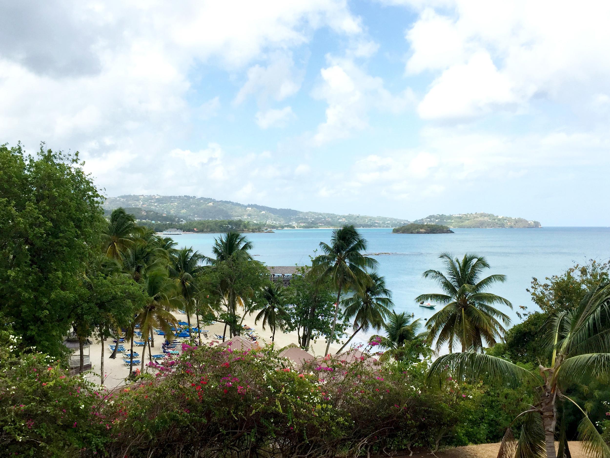 color. me. quirky takes Saint Lucia