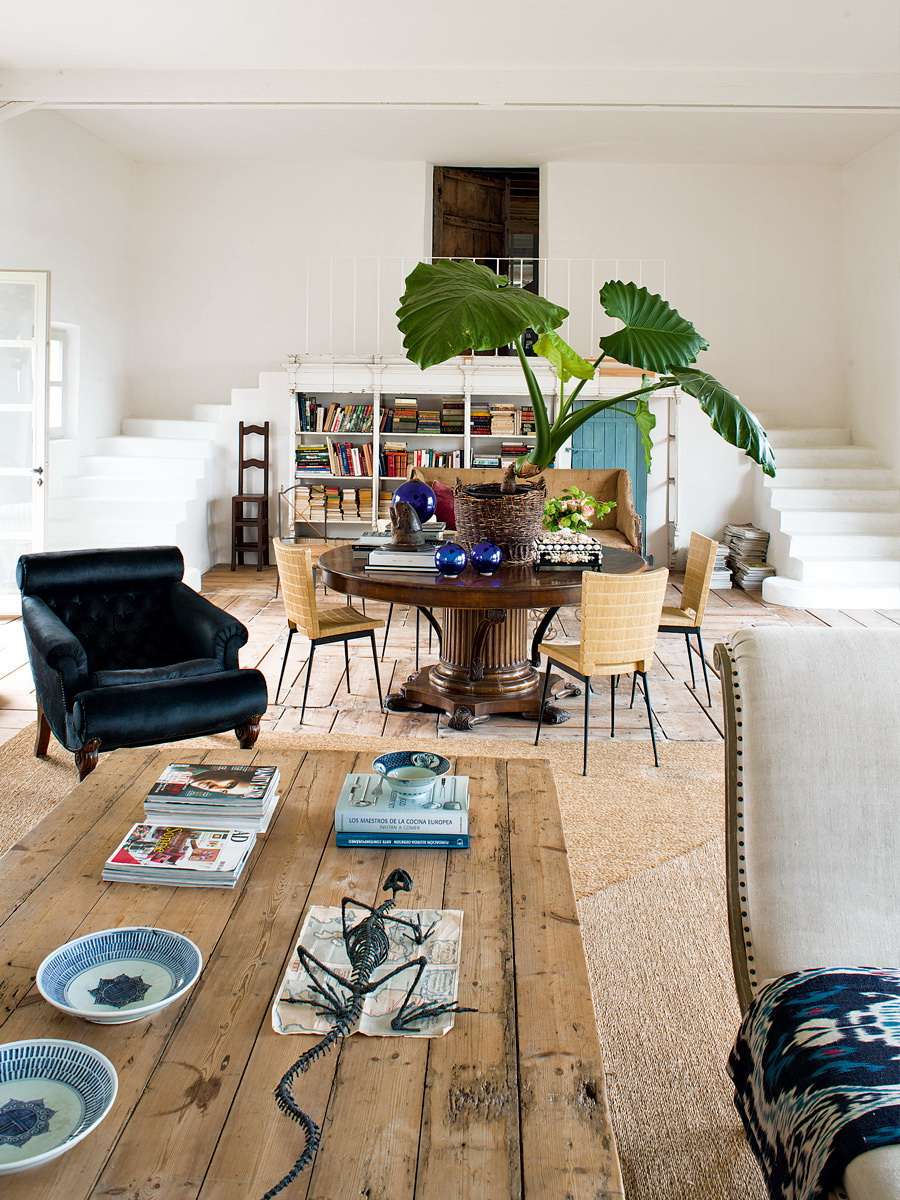 rustic & vintage French home