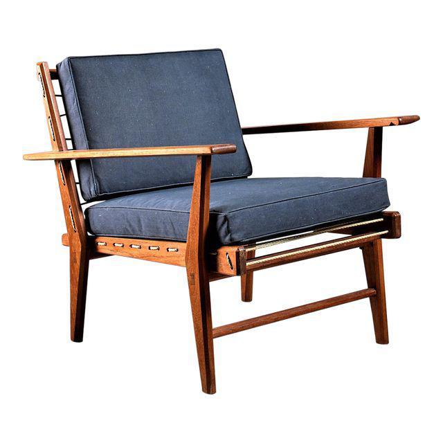 Rope Chair in solid Teak