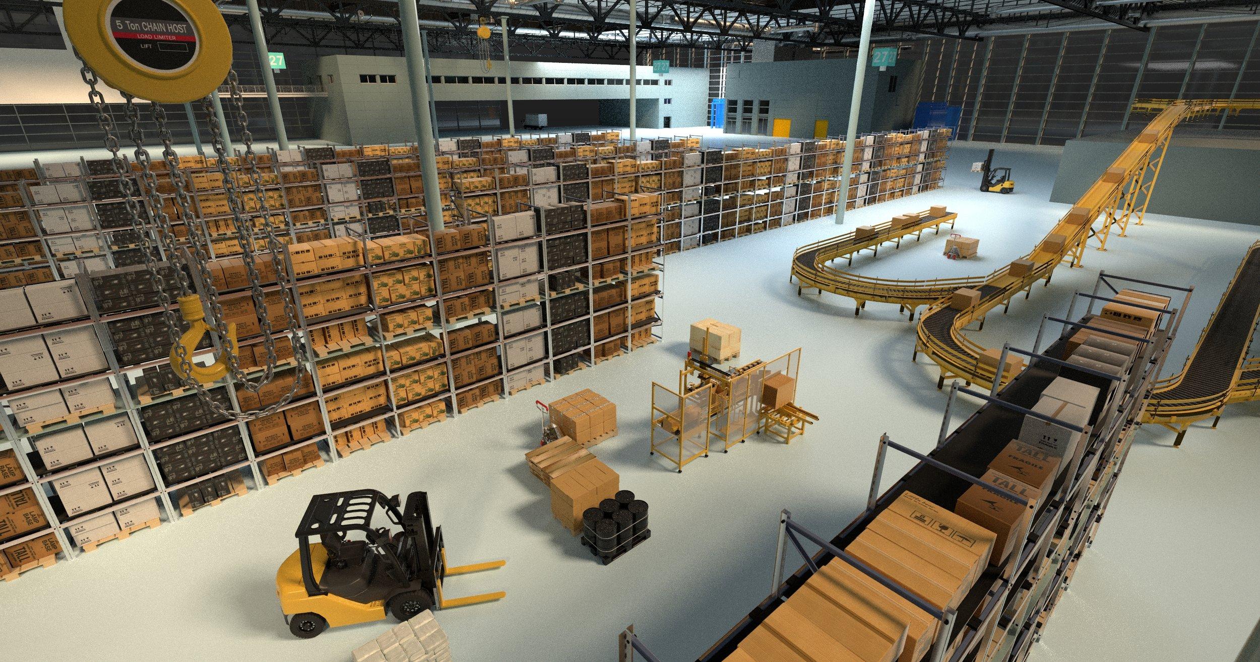Warehouse Rendering for B2B