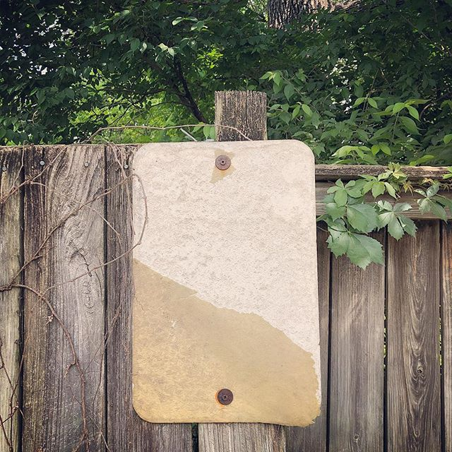 Blank sign. #alleywalk #alleys