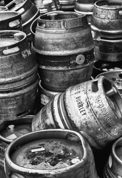 Beer barrels. IR shoot, 40mm, f8, iso 400.
