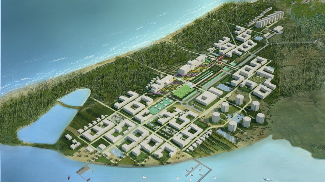 Lin Gao Residential Resort Master Plan — SLAB Architecture PLLC