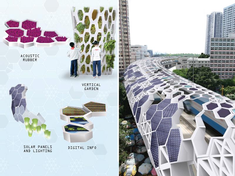 Hong Kong Noise Barrier — SLAB Architecture PLLC