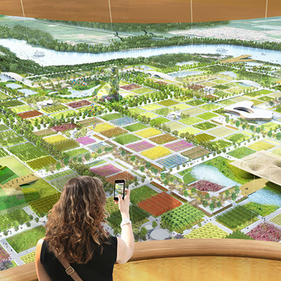 Beijing International Horticultural Exposition Master Plan & Pavilions