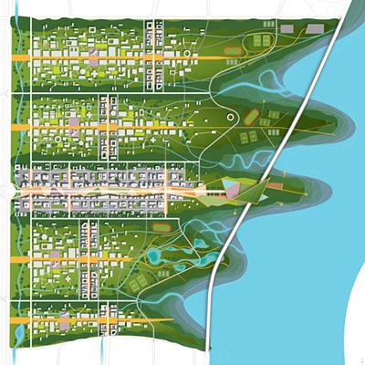 Weifang University Town Master Plan