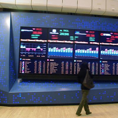 NYSE Media Wall