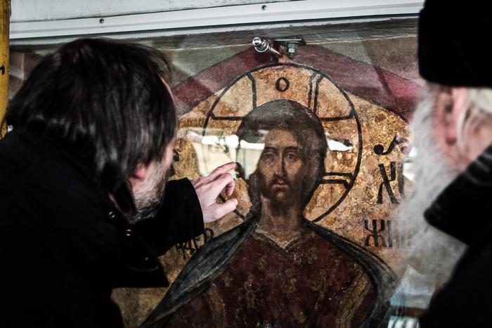 Восстановление надвратных икон Московского Кремля, 2010