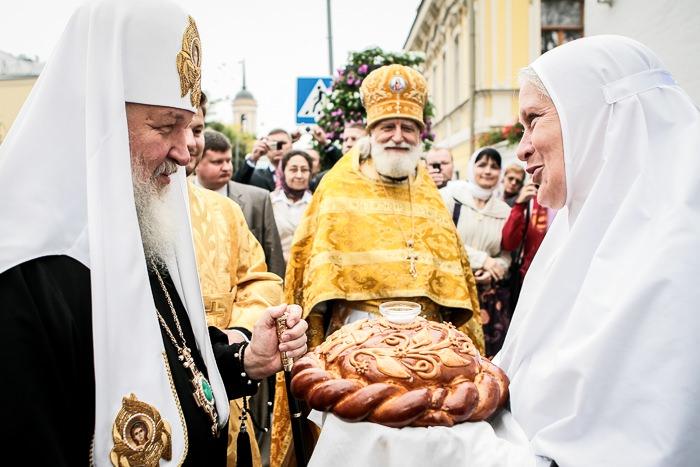 Патриарх Кирилл в ММО.