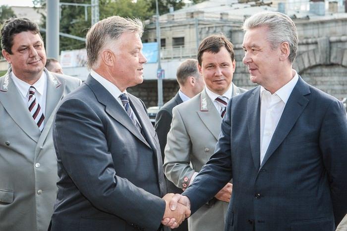 В.И. Якунин и С.С. Собянин