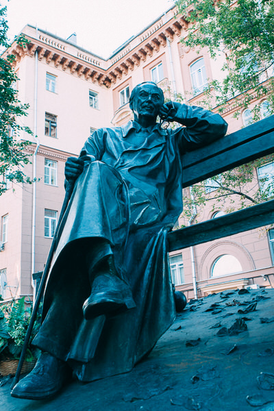 Памятник Сергею Михалкову