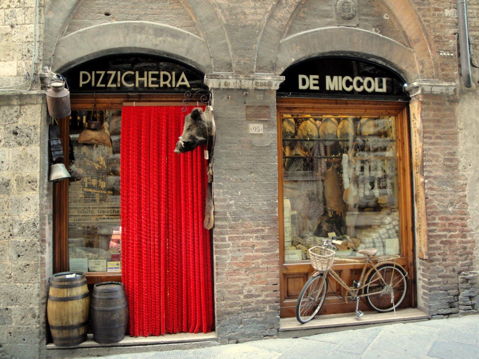 Alimentari in Siena