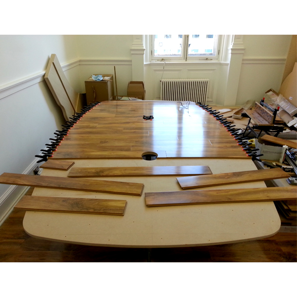 Surfacing Boardroom Table