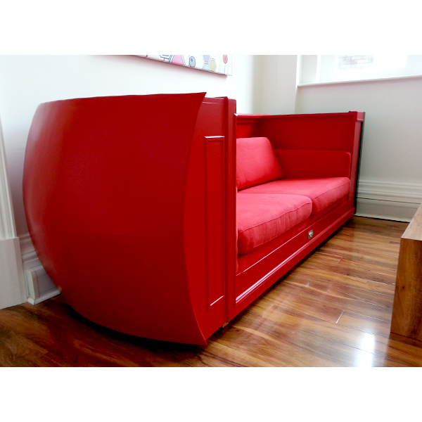 'Red' Telephone Box Sofa