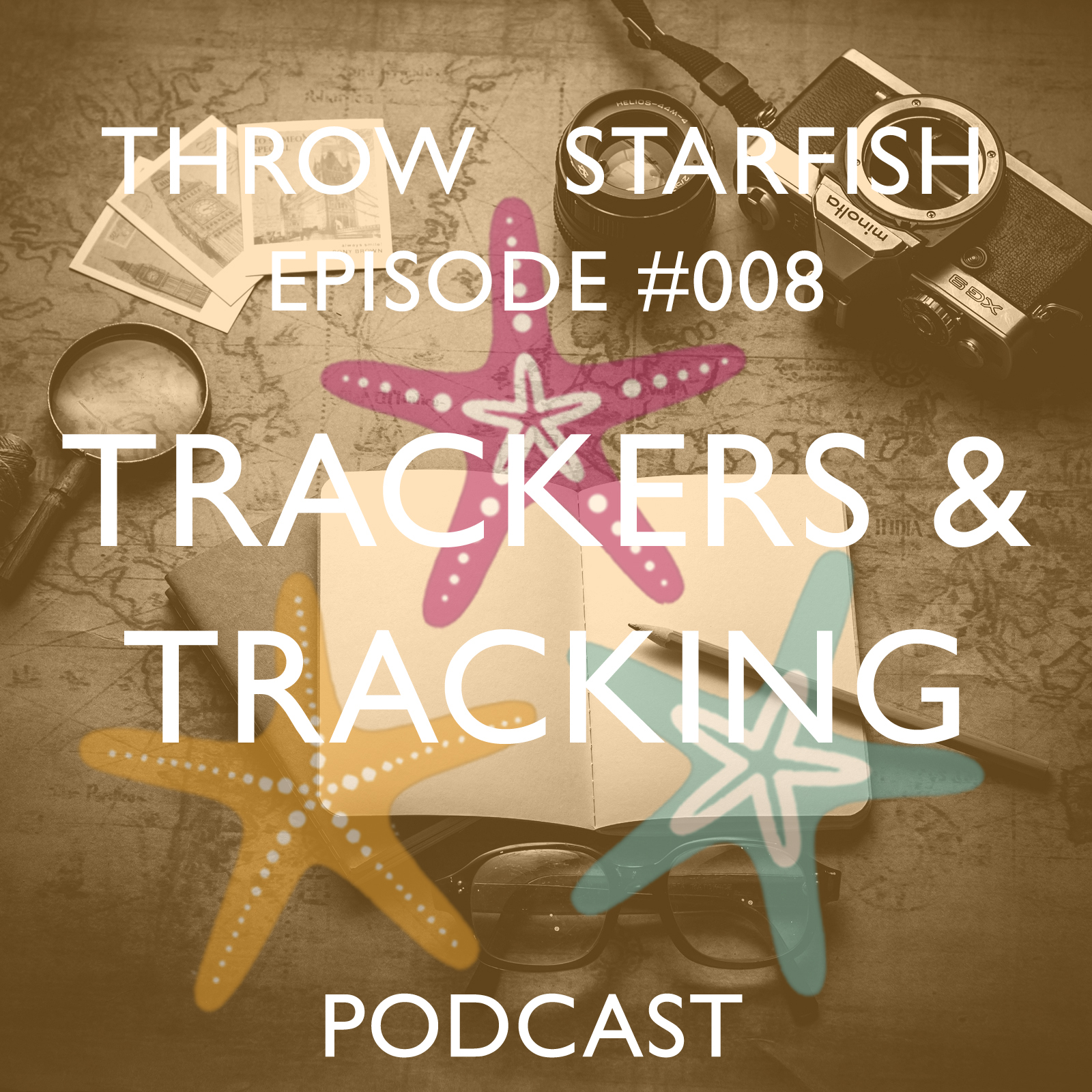 Click on the image to listen to our Podcast on Trackers and Tracking...