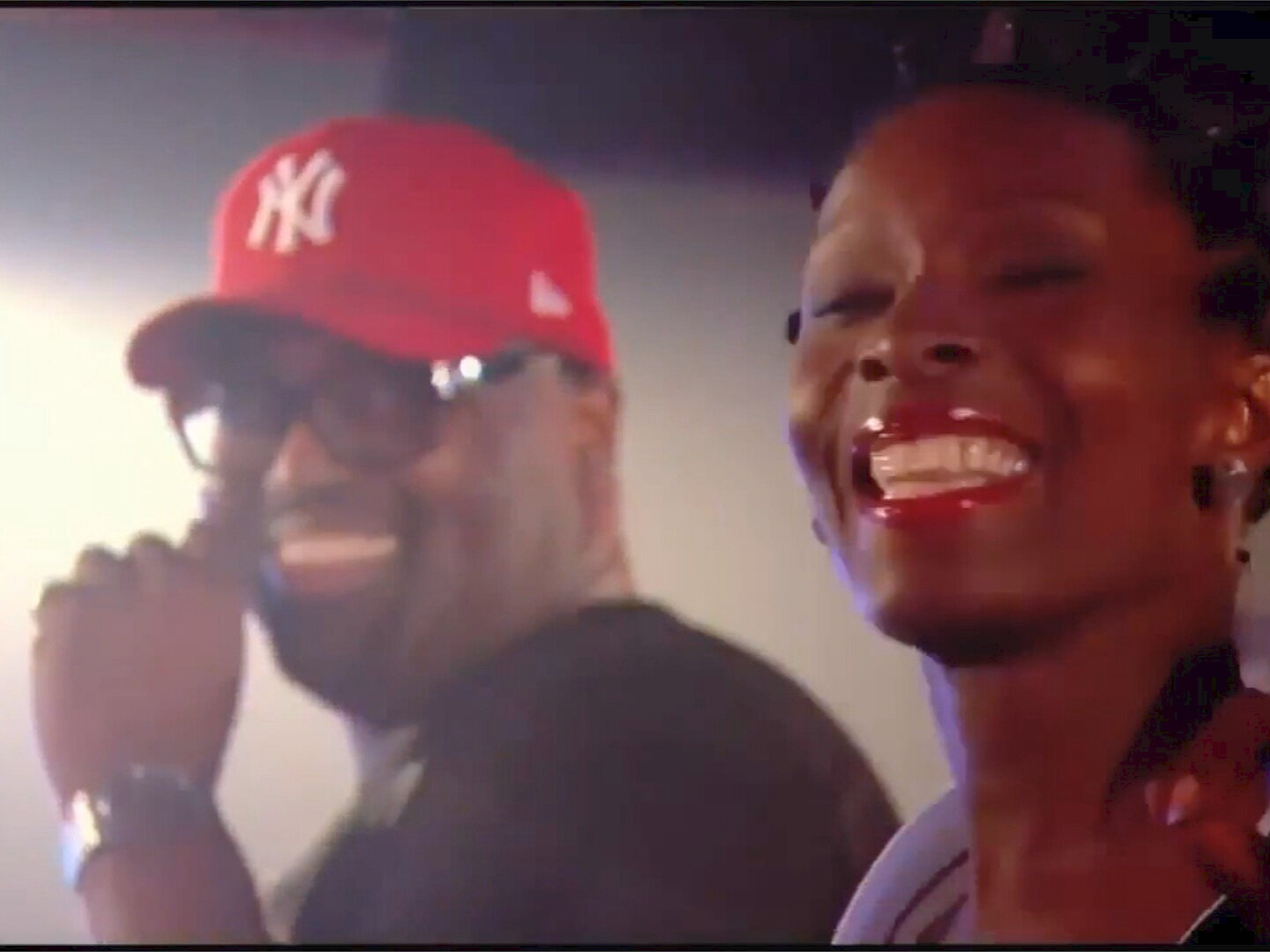 Frankie Knuckles and Alison Limerick