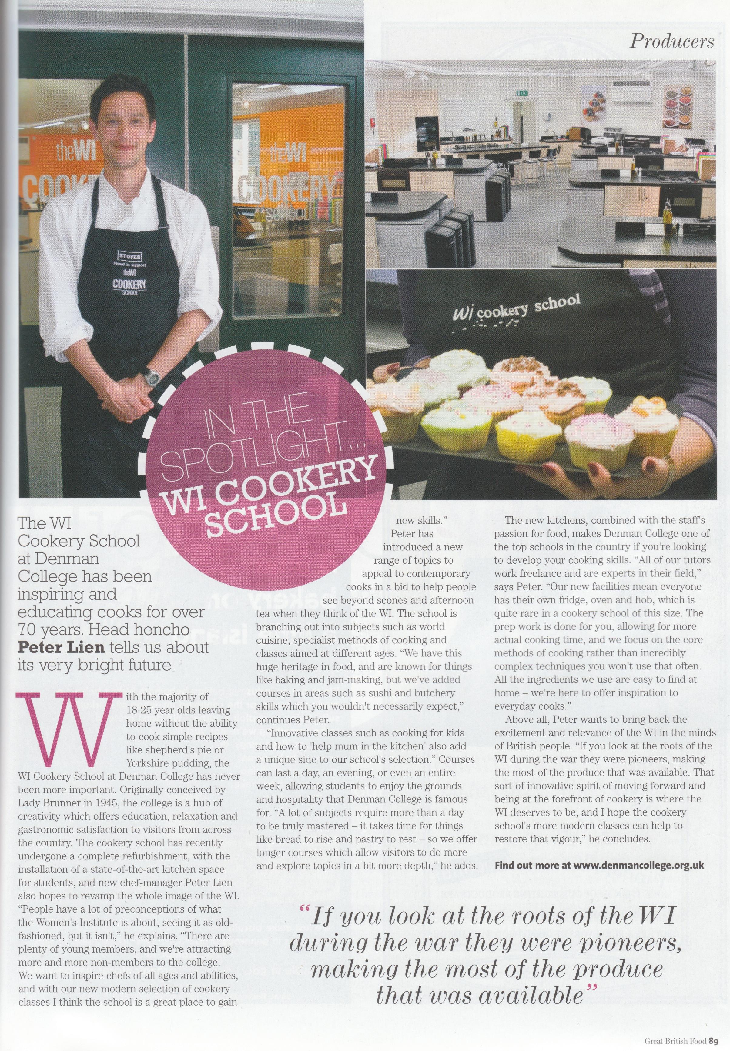 Great British Food Magazine, Jan/Feb 2011