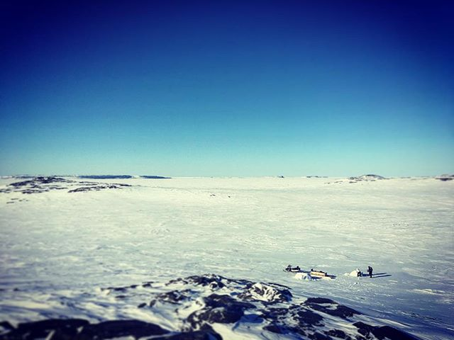 Igloo shoot on the Arctic shores of Hudson's Bay. #squad #epic #Makoons #Arctic #Igloo