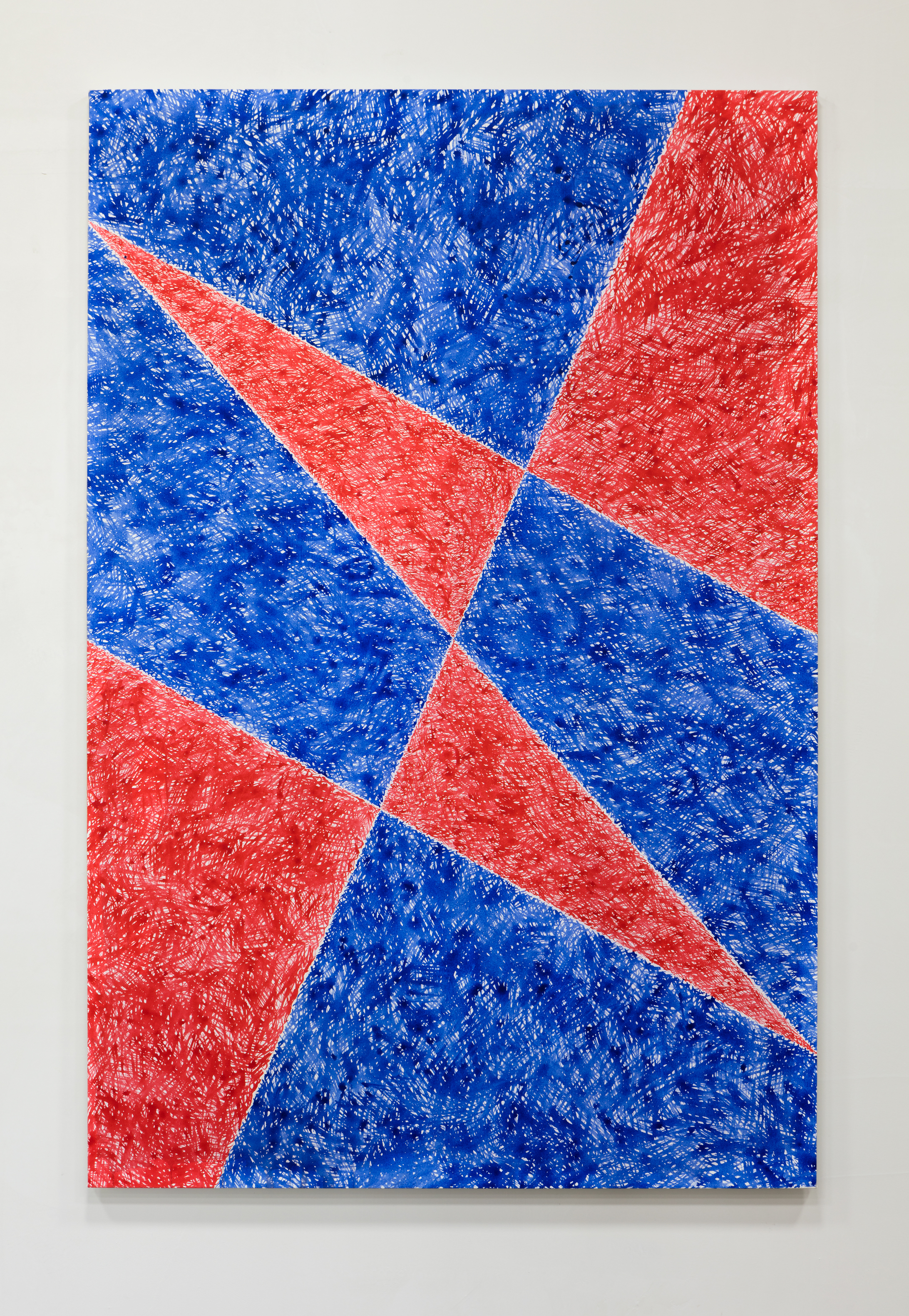 Arózqueta , 2016 acrylic ink on canvas 76.5 x 53.25 inches