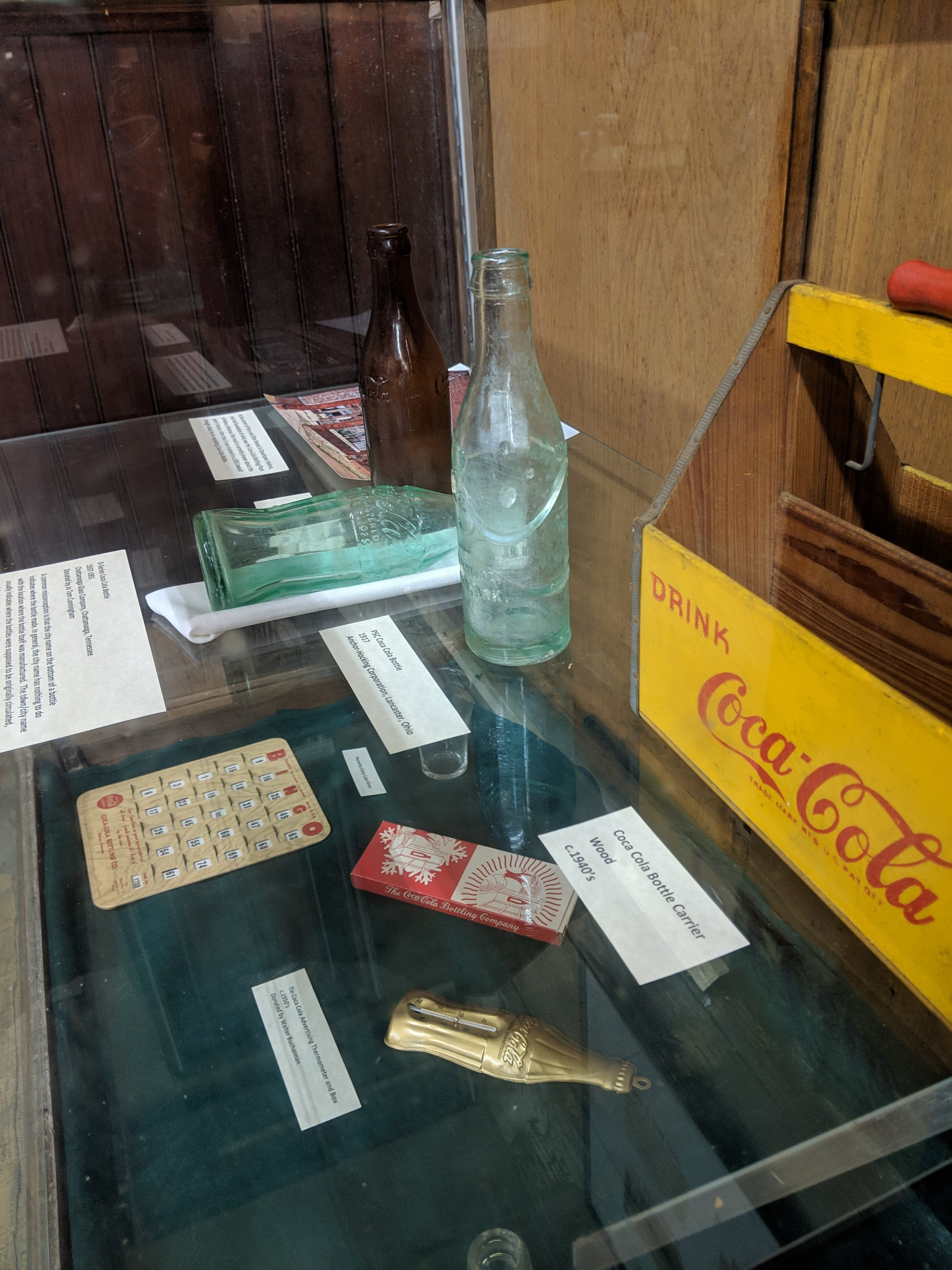Local Businesses and Organizations - We have exhibits for many local businesses and churches, some of which almost older than the Library.