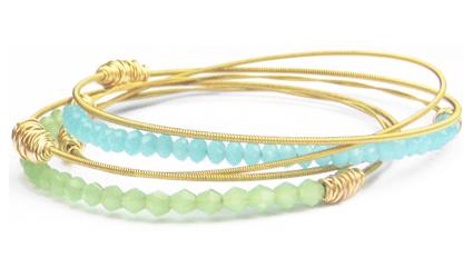 * Two Remix Bangles             * Three Legend Collection bracelets