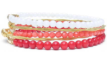 * One Hit Single Bangle               * One Charm Collection bracelet               * Two Icon Collection bracelets