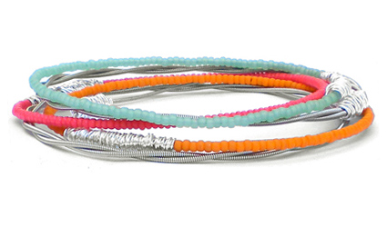silver-bangle-bracelet-set