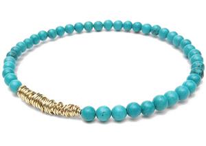 Turquoise Blue Legend Bracelet  $34.00