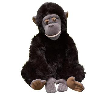 The freaking adorable bonobo stuffed animal you receive when you donate to WWF.