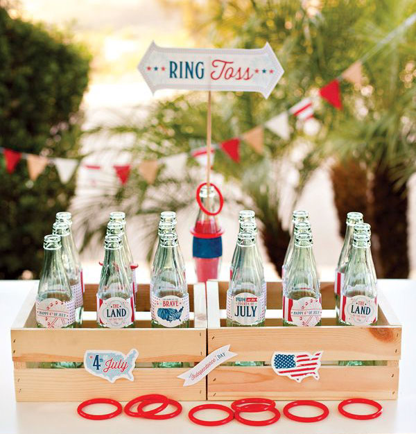 DIY ring toss game  from  blog.hwtm.com