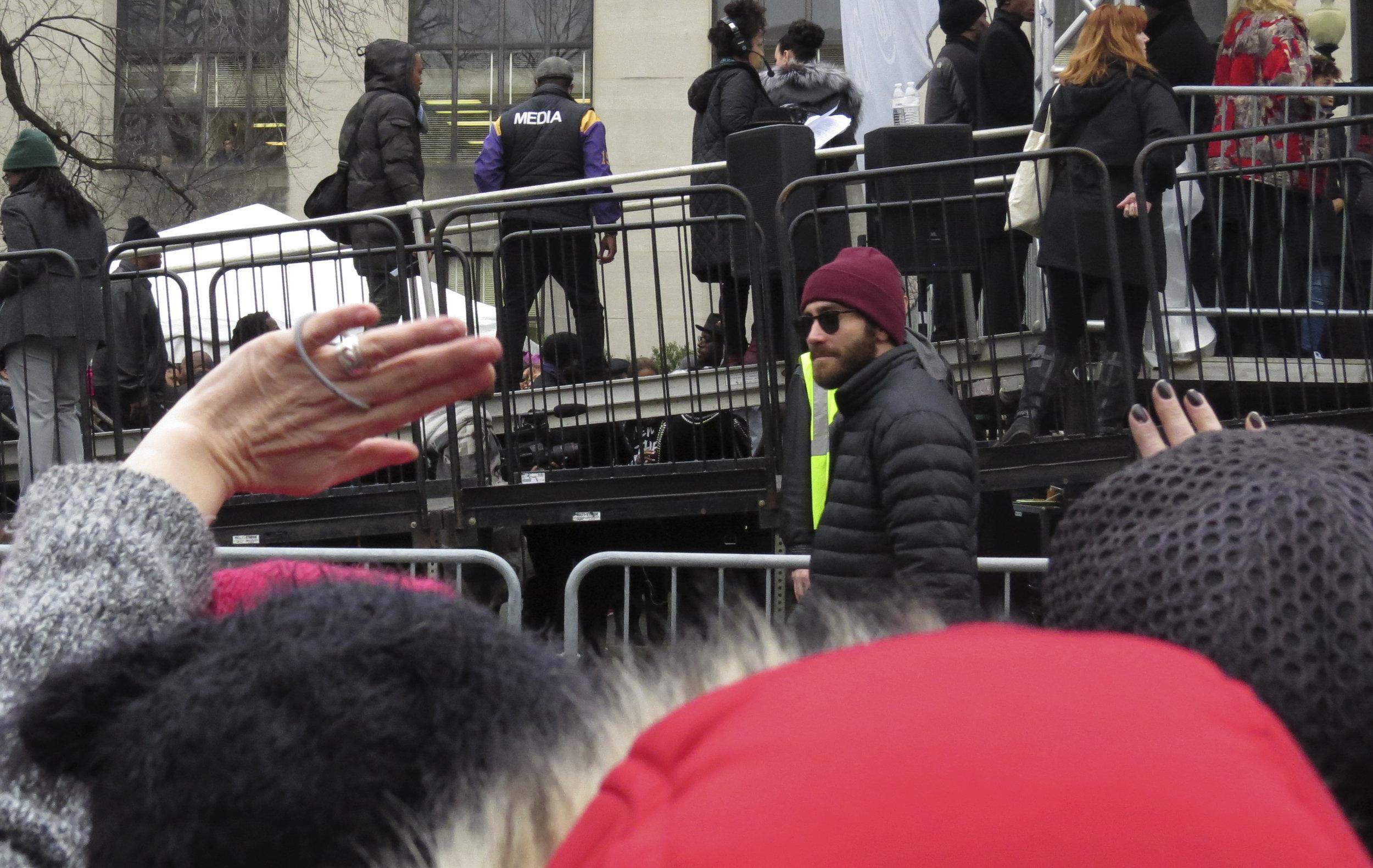 Jake Gyllenhaal // Women's March on Washington