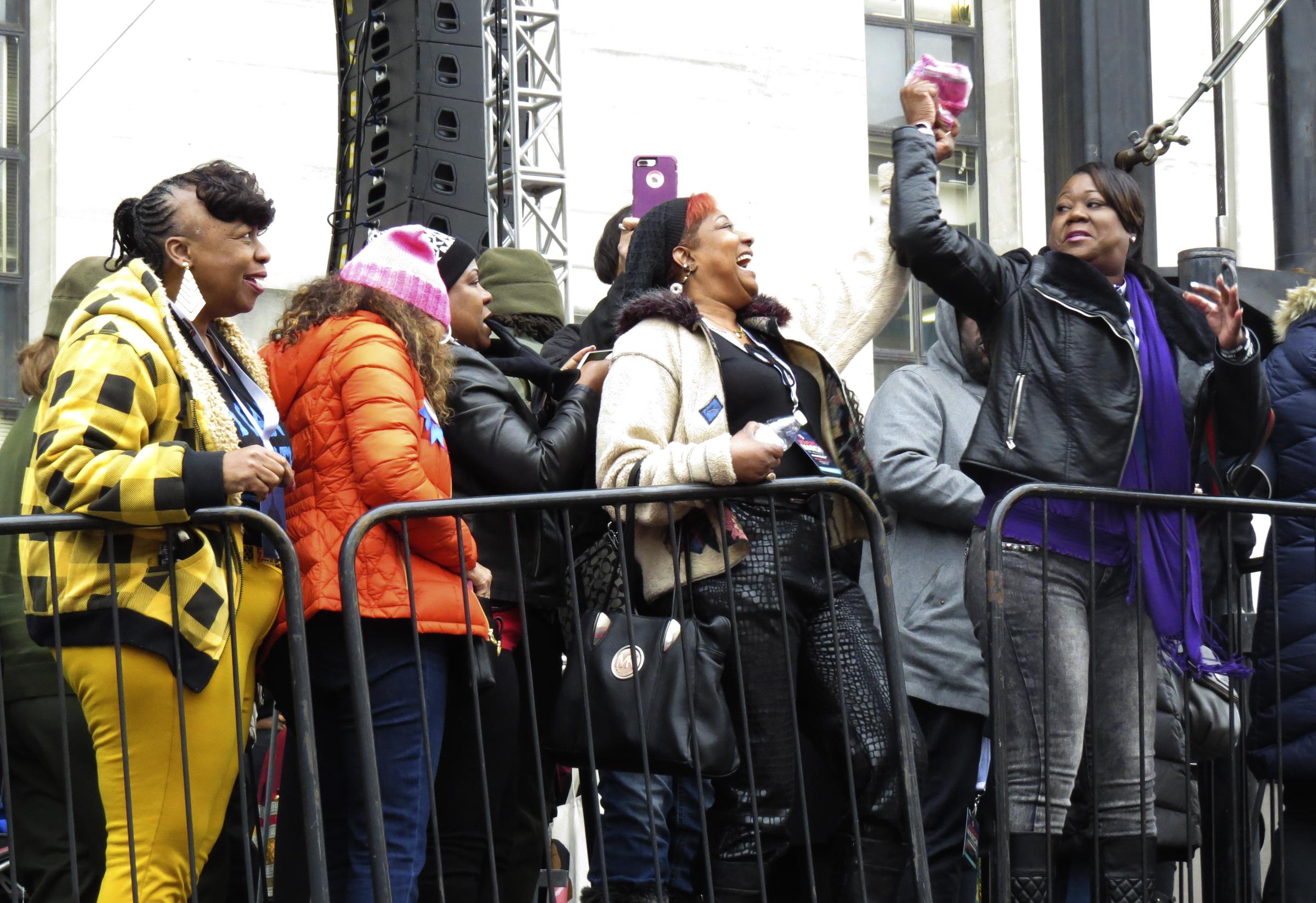 Mothers of Trayvon Martin, Jordan Davis, Eric Garner, Mohamed Bah, and Dontre Hamilton // Women's March on Washington