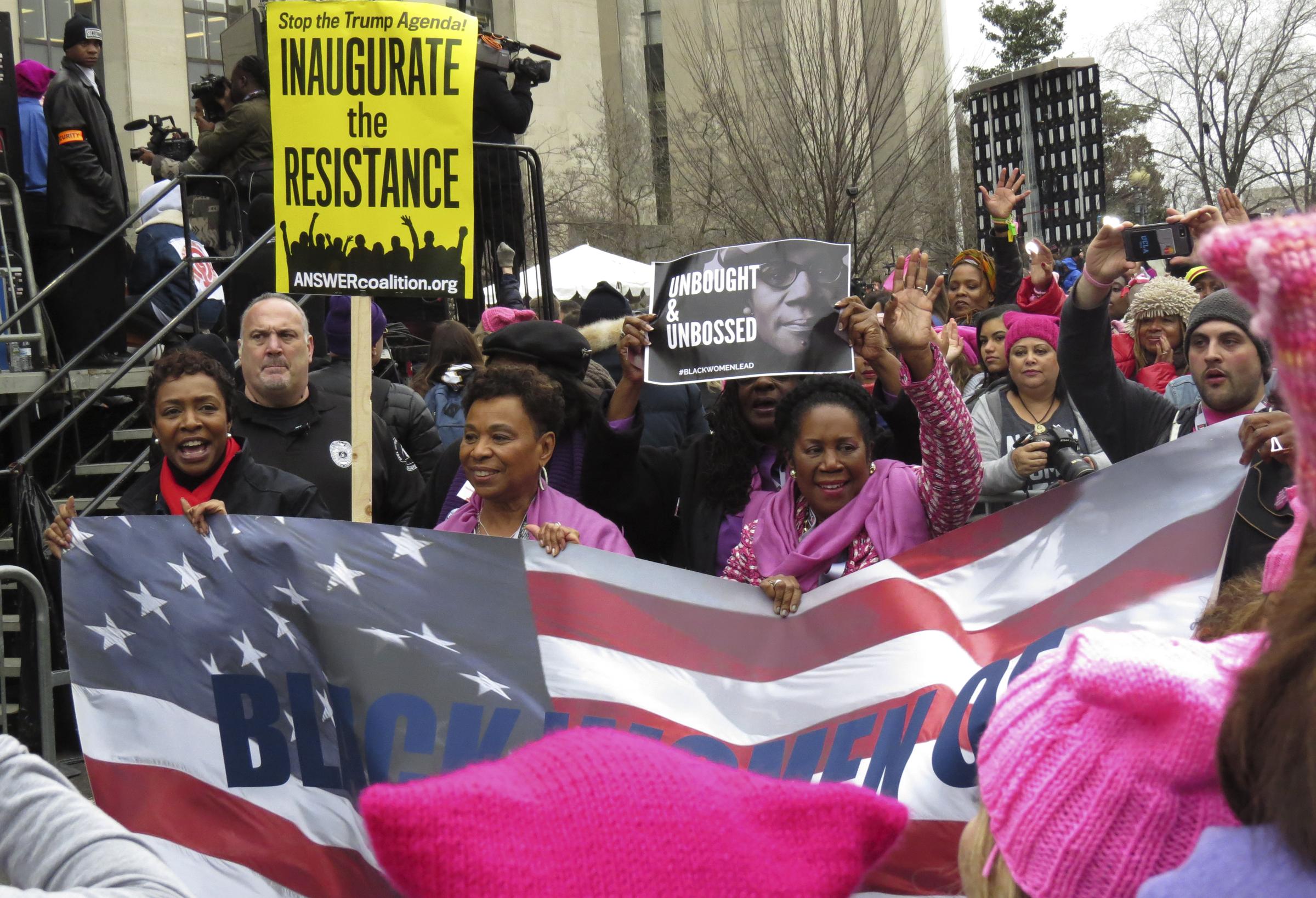 Black Women of Congress // Women's March on Washington