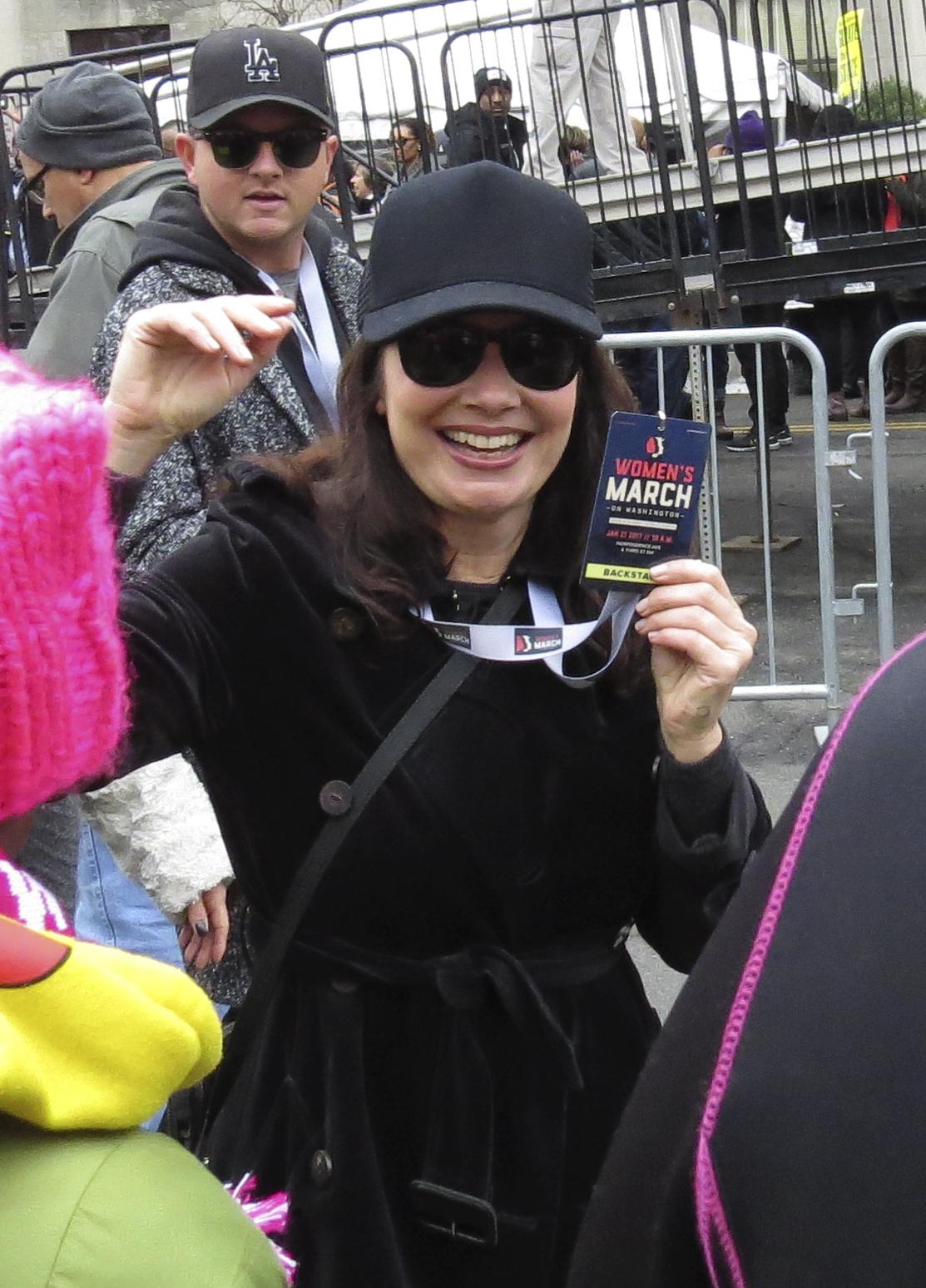 Fran Drescher // Women's March on Washington
