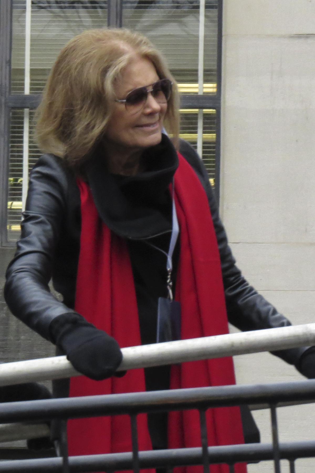 Gloria Steinem at Women's March on Washington