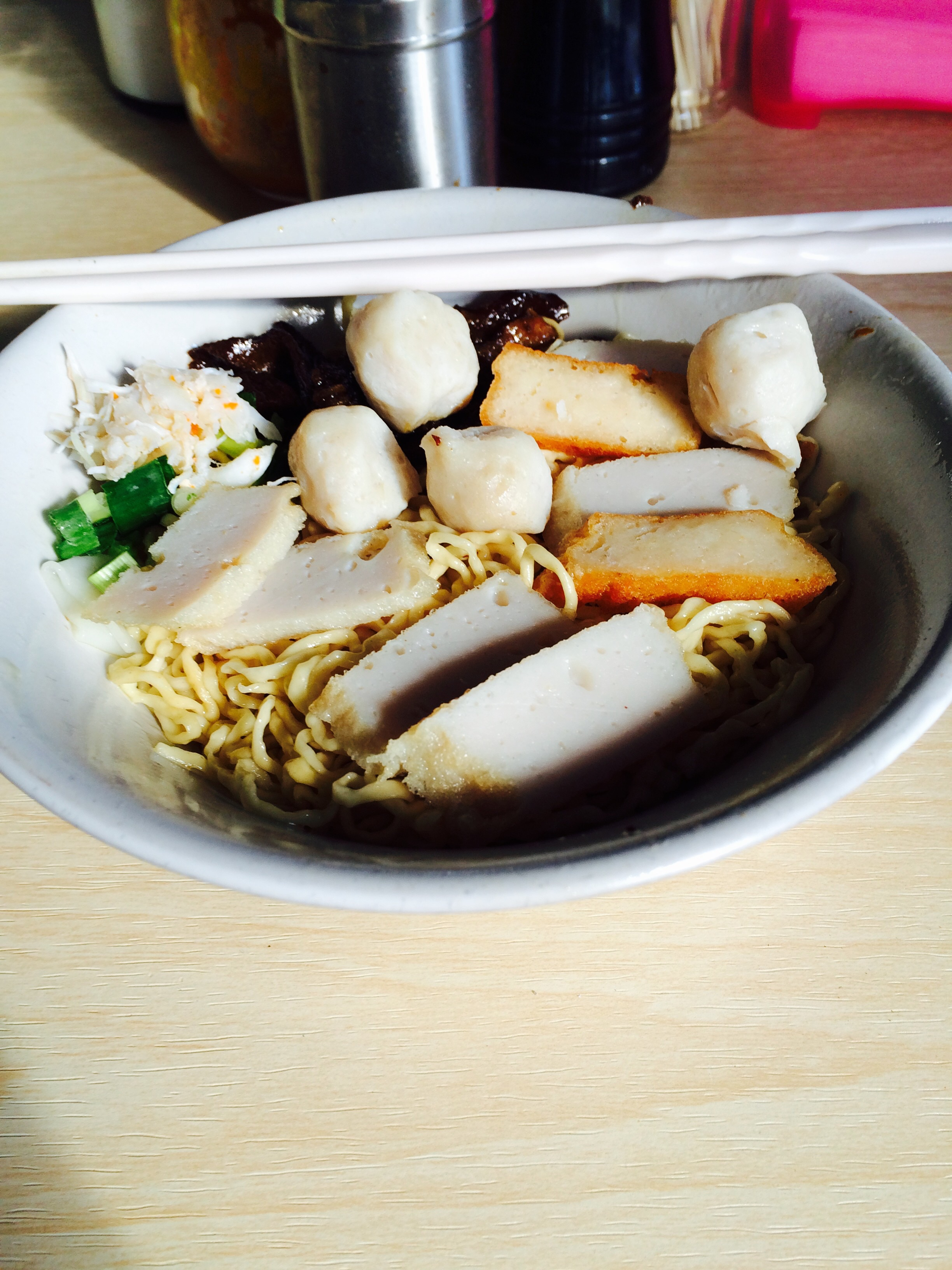 First noodles of trip