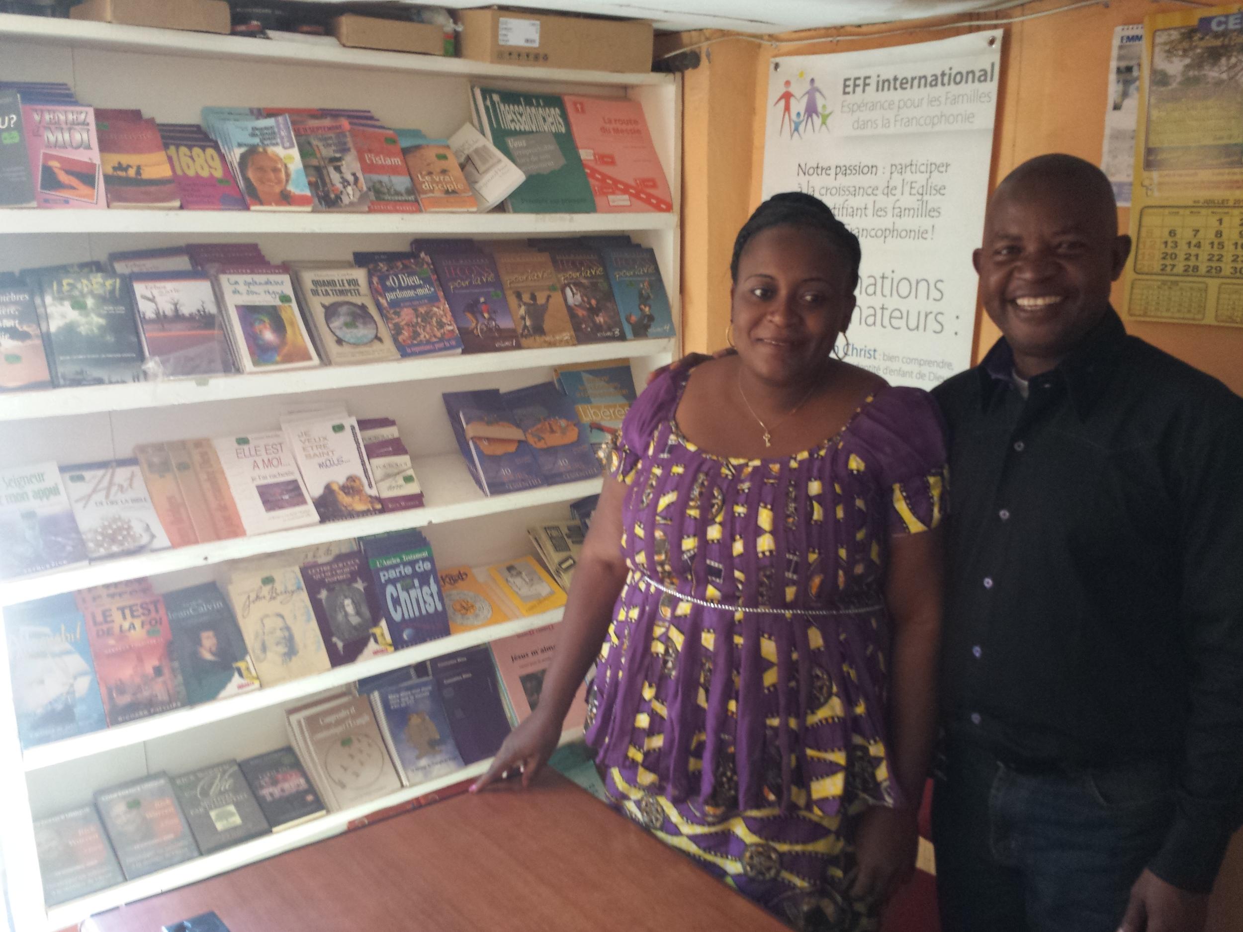 Kakudji & his wife Mwambu
