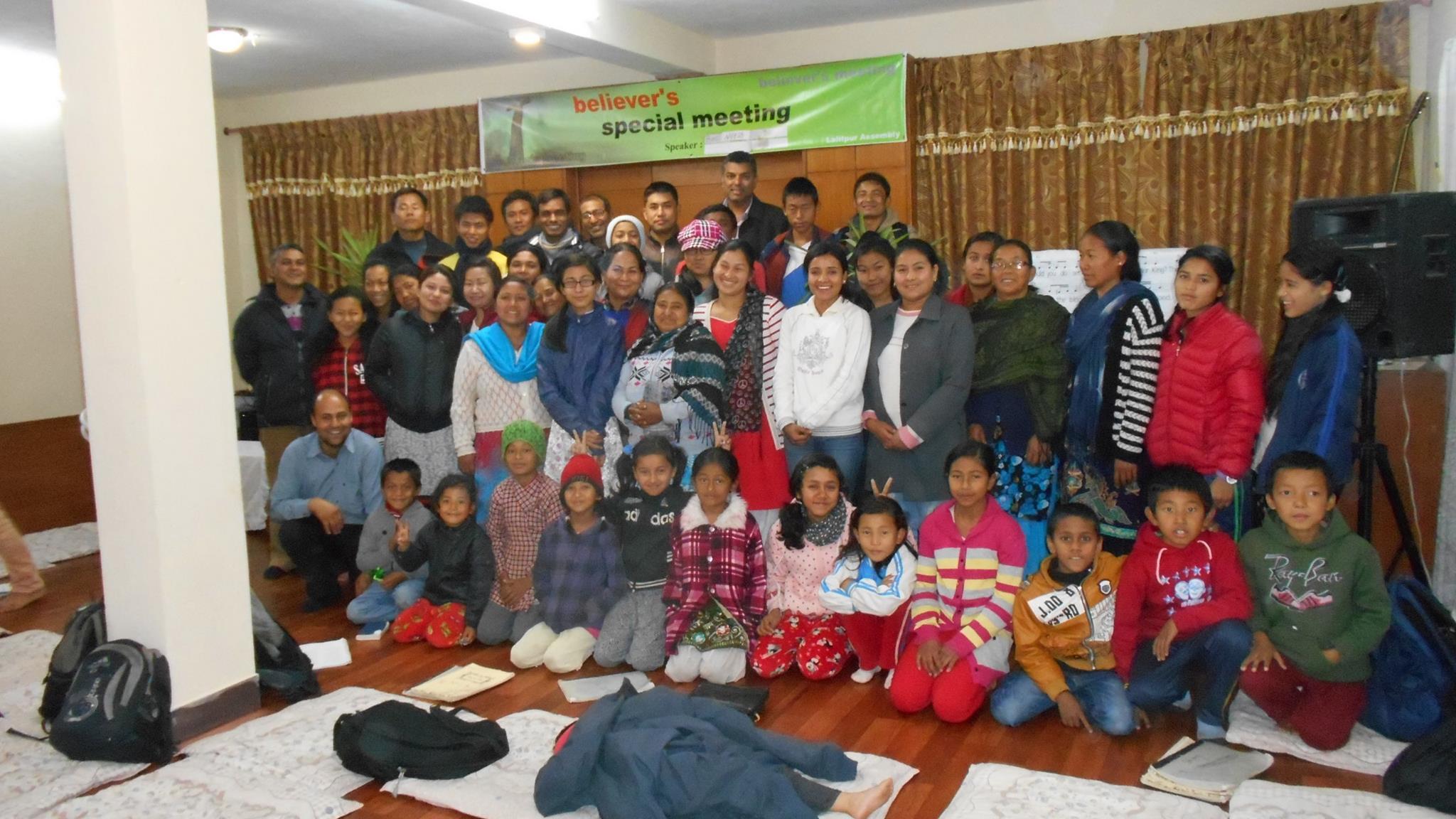 Lalitpur evening meeting
